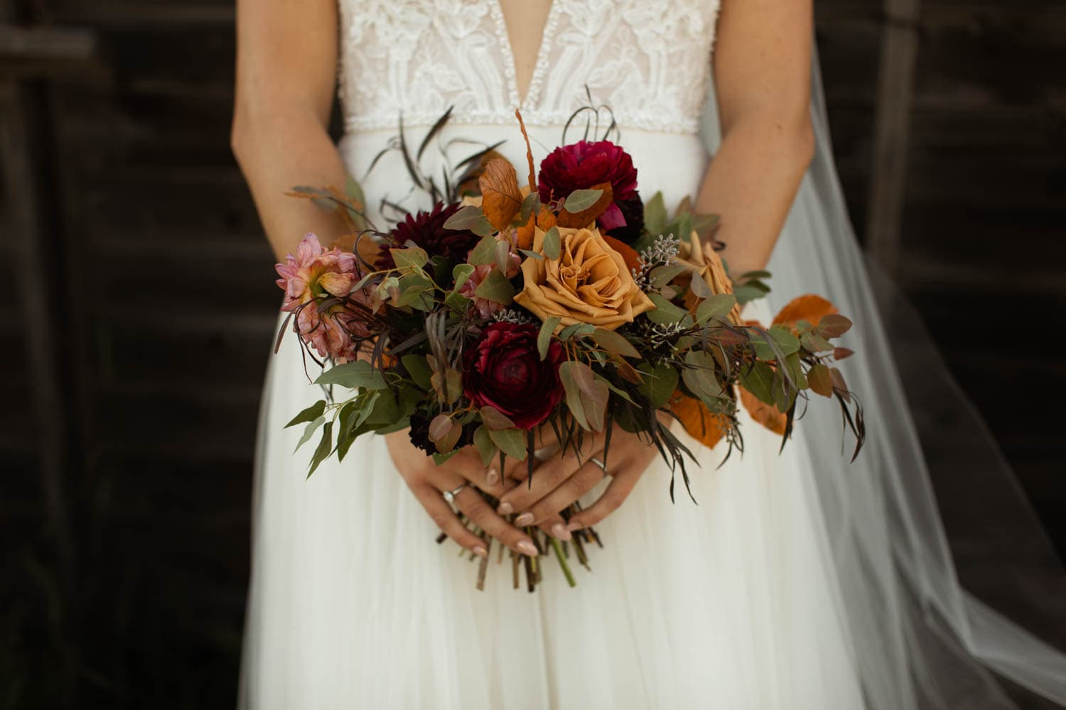 brides fall bouquet