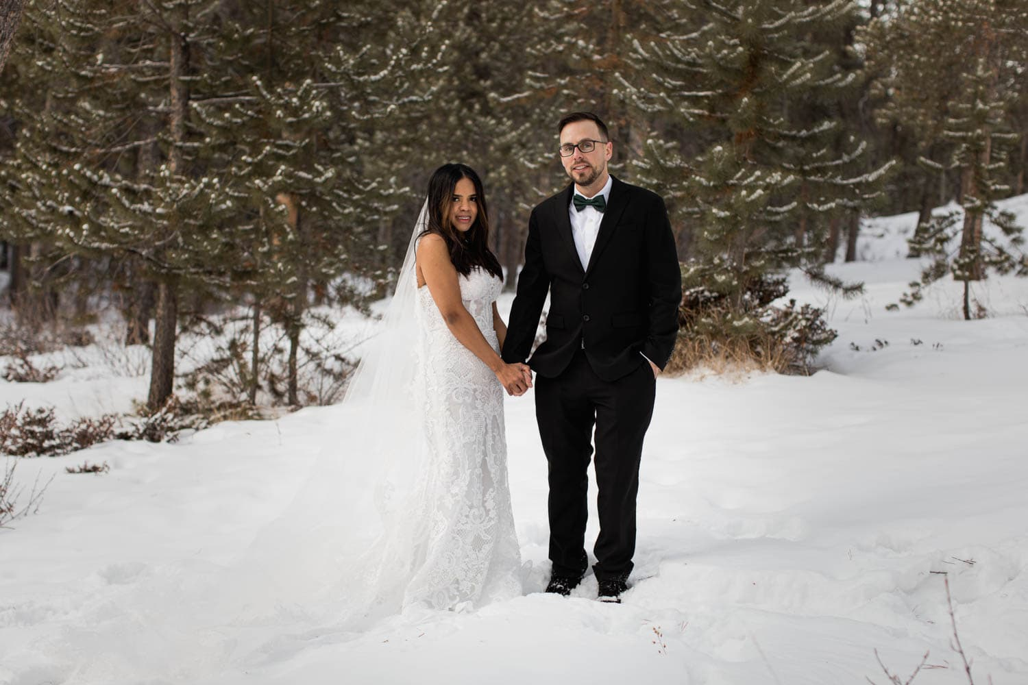Forest Winter Elopement