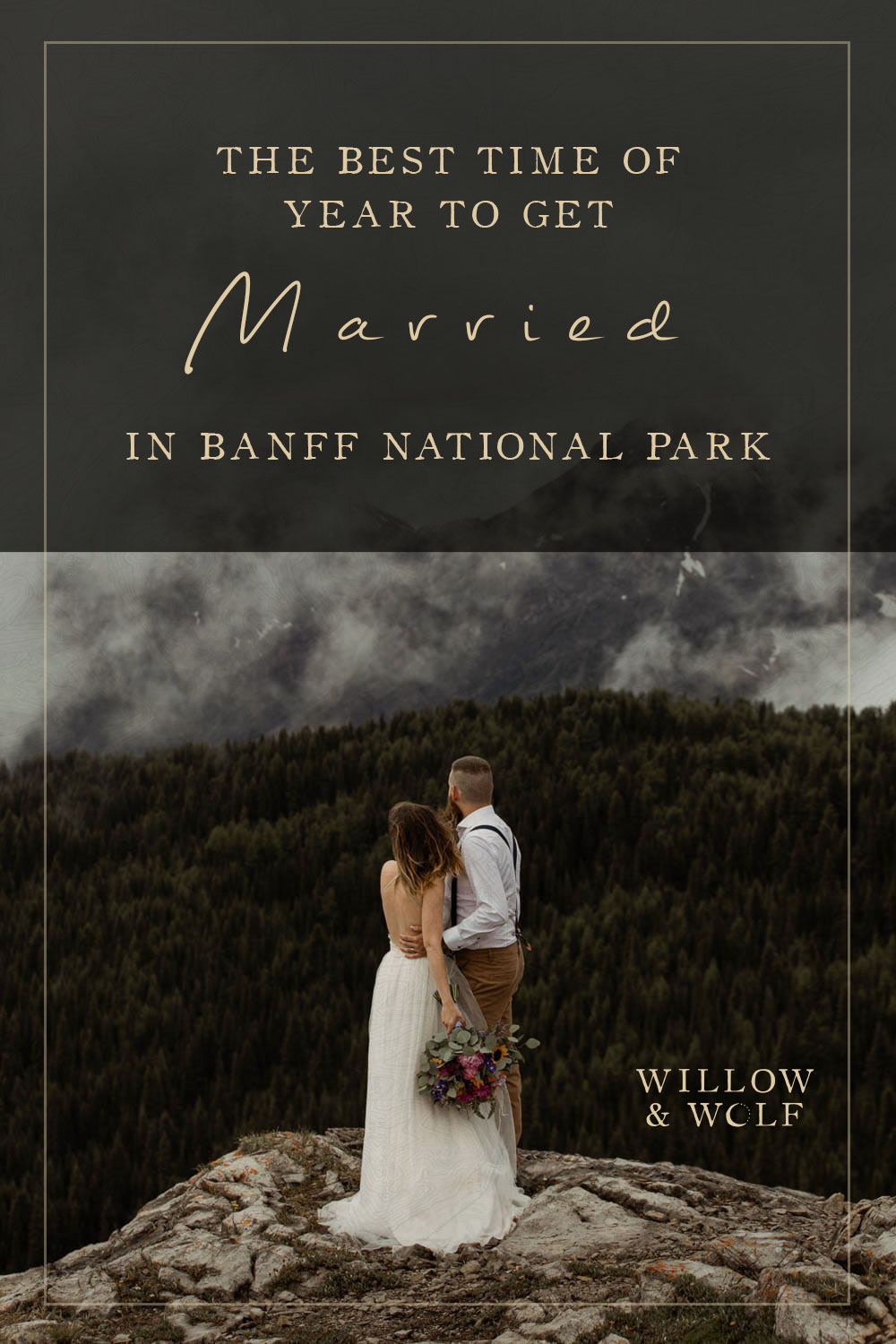 when to get married in Banff National Park