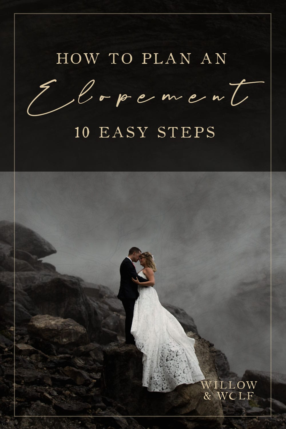 how to plan an elopement in 10 easy steps