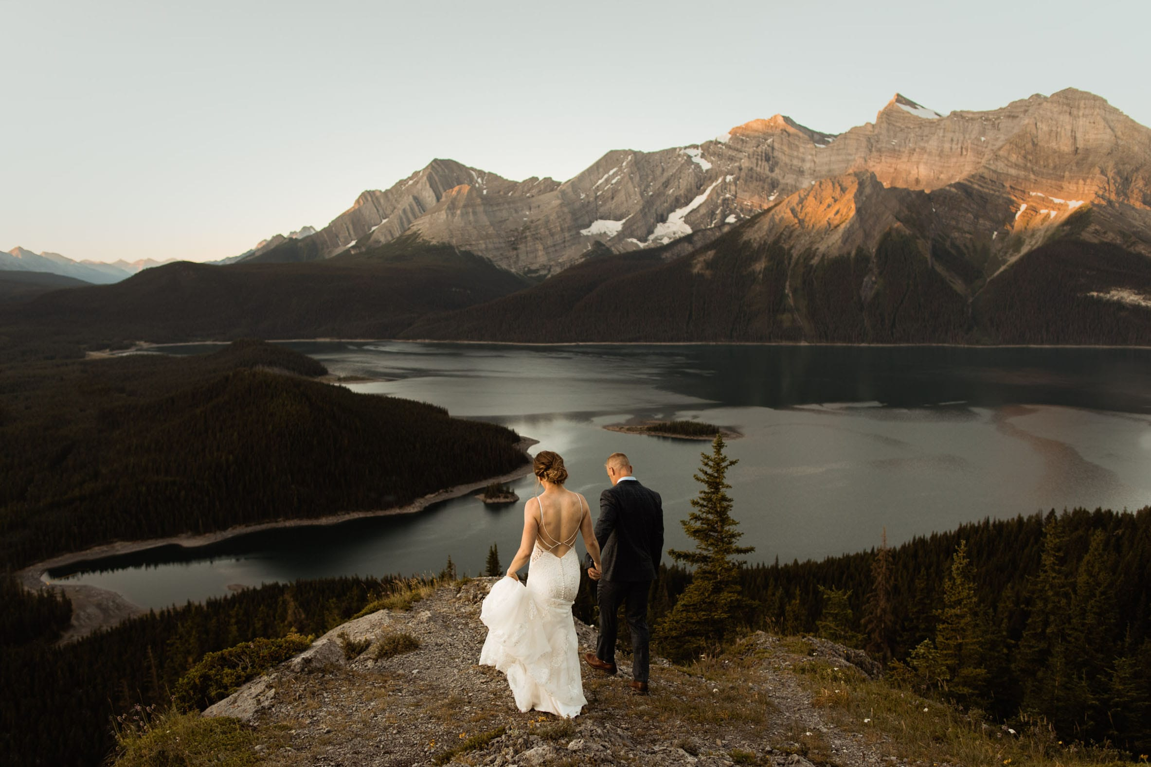 Kananaskis Elopement Photographers