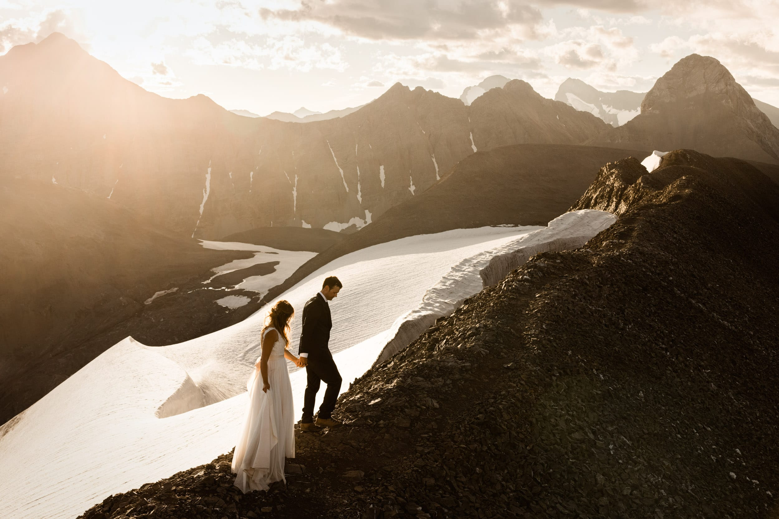 Camping Adventure Elopement in Alberta