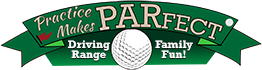 Practice Makes Parfect Golf Range Logo