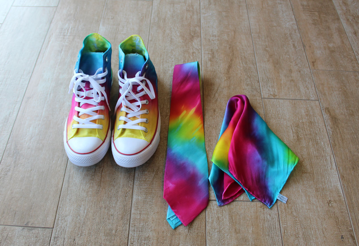 Dyed Converse