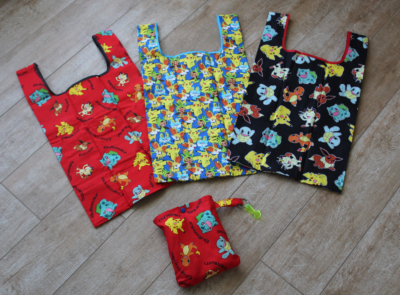 Tutorial – How to make Shopping Bag Pouches