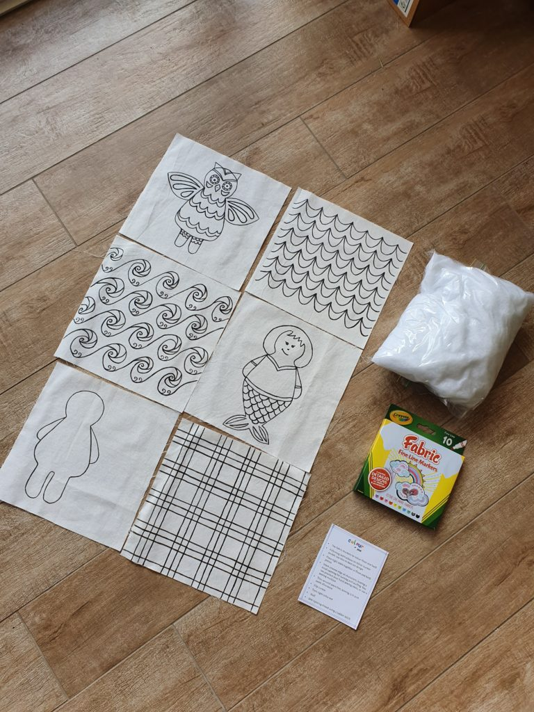 colour and sew kit