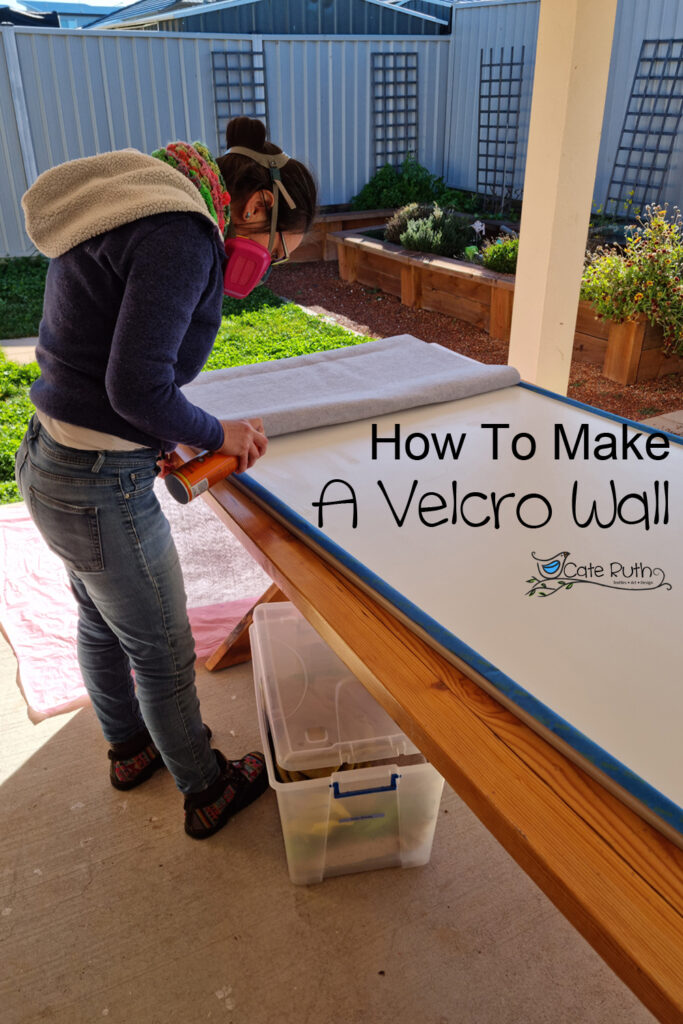 How To Make A Velcro Wall