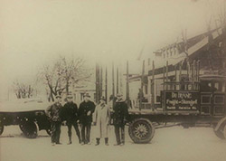 dufrane moving & storage - history; about dufrane