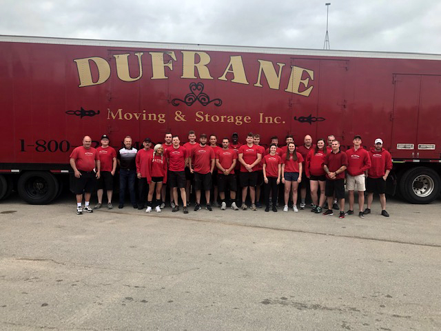 dufrane moving & storage team