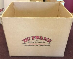 dufrane moving & storage: boxes carts and moving supplies; speed pack