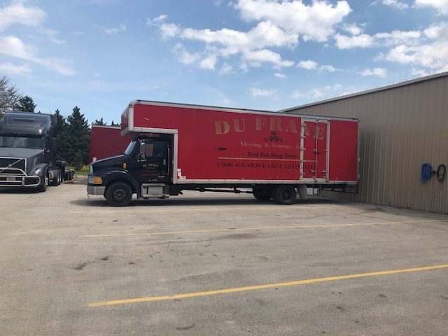 dufrane moving & storage - on truck storage for a straight truck