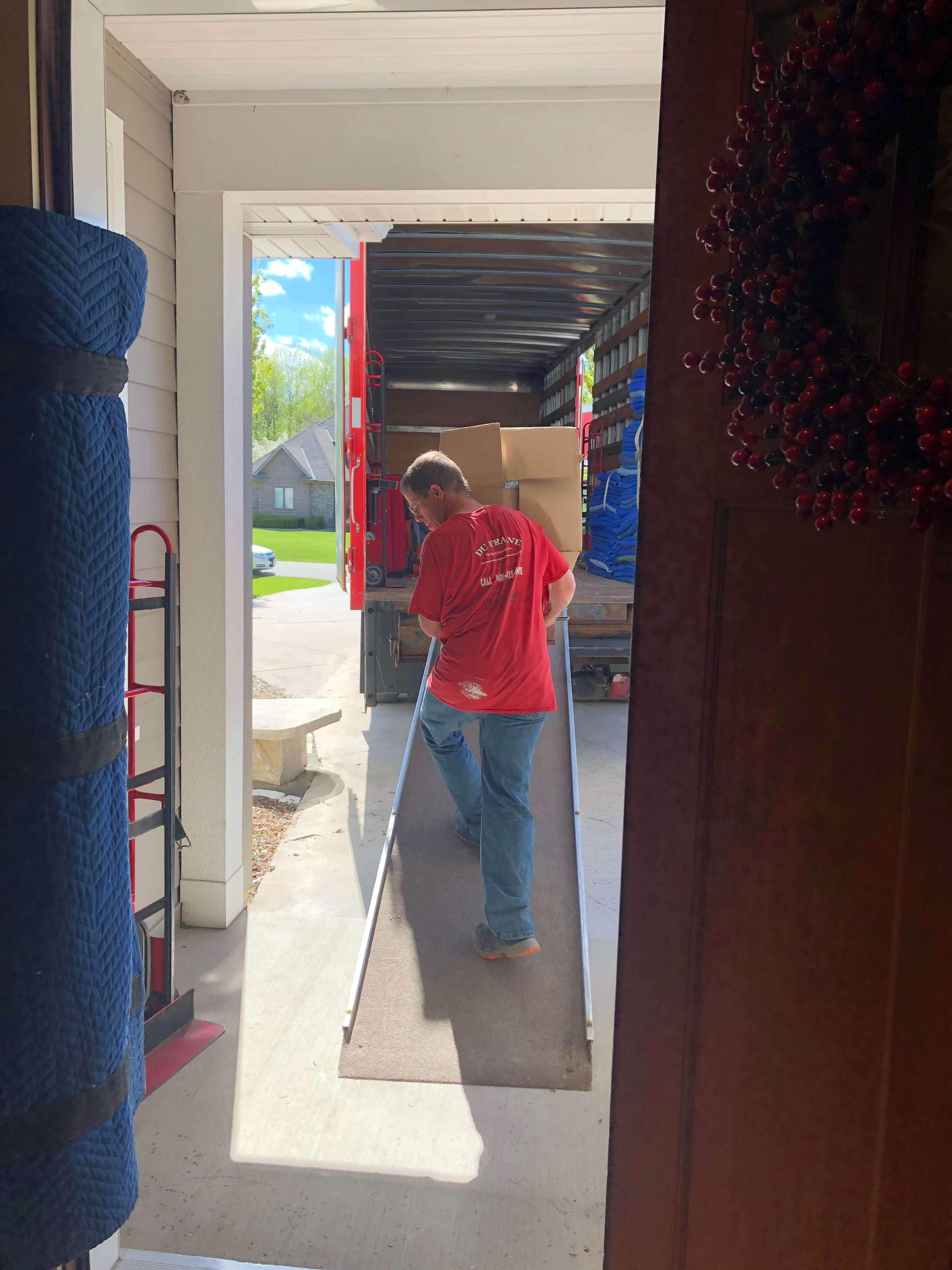 dufrane moving & storage - moving