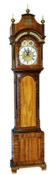 dufrane moving grandfather clock