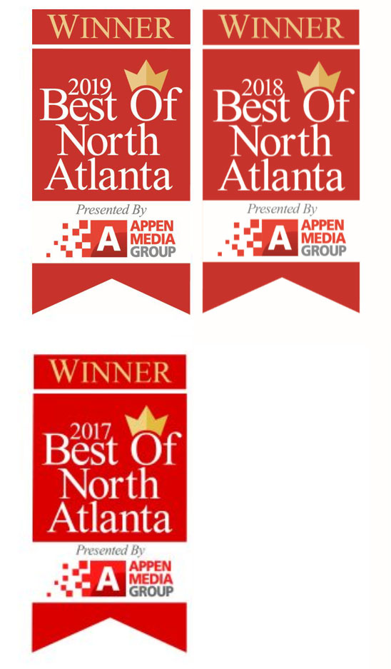 Winner Best of North Atlanta 2017-2019