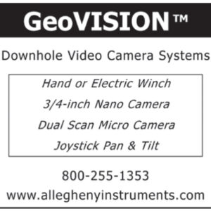 GeoVISION - Downhole Video Camera Systems