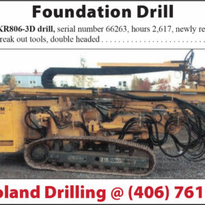 Foundation Drill