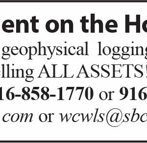 Retirement on the Horizon!!! Water well geophysical logging and video company