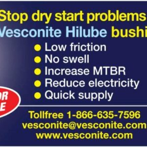 Stop dry start problems with Vesconite Hilube bushings
