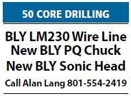 Core Drilling Equipment for Sale