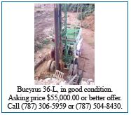 Bucyrus 36-L for Sale