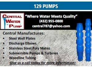 Central Water Pump Manufactures Variety of Pump Products