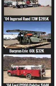 Beeman Equipment Sales Buys, Sells, and Trades Drilling Equipment
