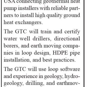 Water Furnace Seeks Geothermal Technical Consultant