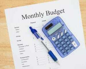 budgeting with estate lawyer