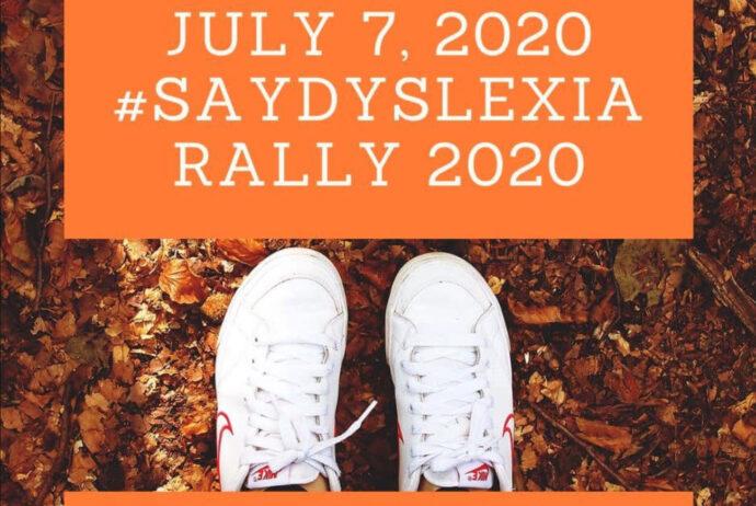 #SayDyslexiaRally_2020