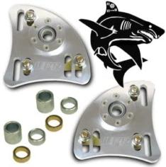 94-04 Ford Mustang Billet Shark Caster Camber Plates