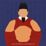 An illustration of King Sejong the Great