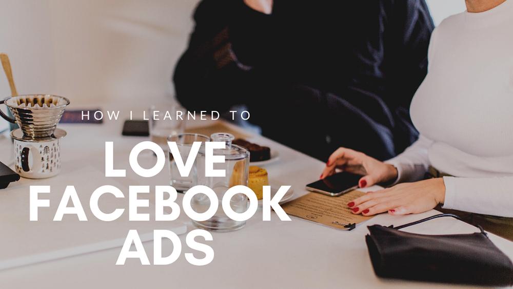 love facebook ads