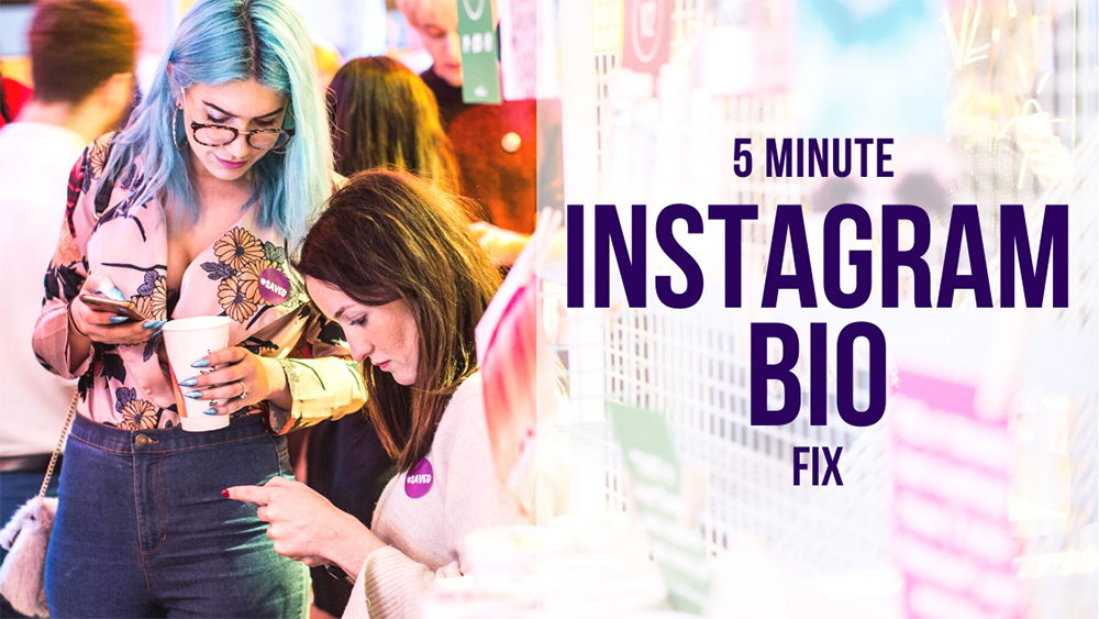 5 Minute Instagram Bio Fix