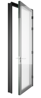 Glass Acoustic Double Glazed Door