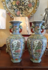 Porcelain Vases, Garden Stools and Other Decor
