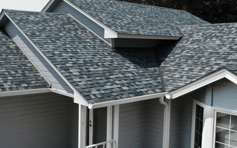 Dimensional Shingle Roof