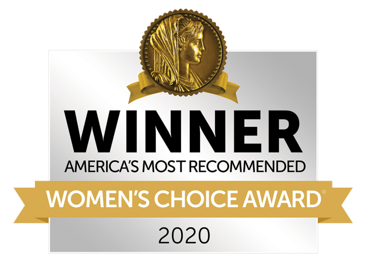 2020 Womens Choice Winner - Most Recommended Roofing Product
