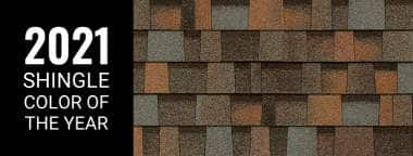 2020 Roofing Shingle of the year - Pacific Wave
