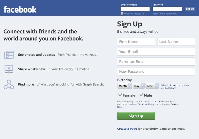 Facebook sigue siendo la más popular