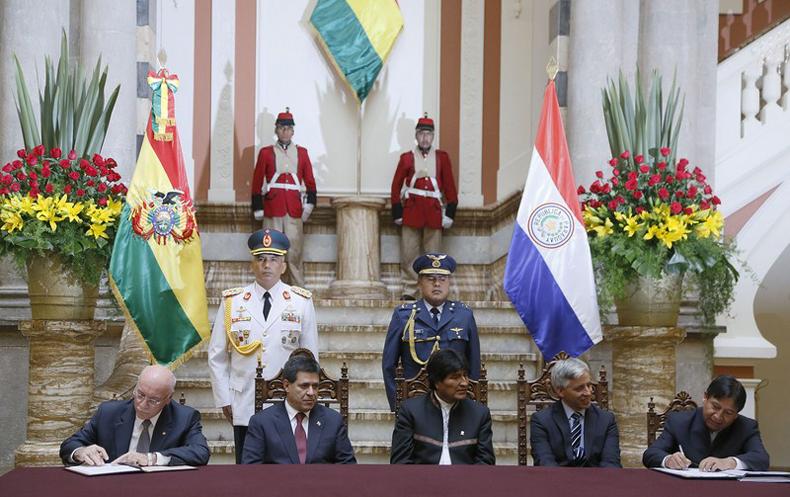 Bolivia y Paraguay fortalecen relaciones políticas y económicas