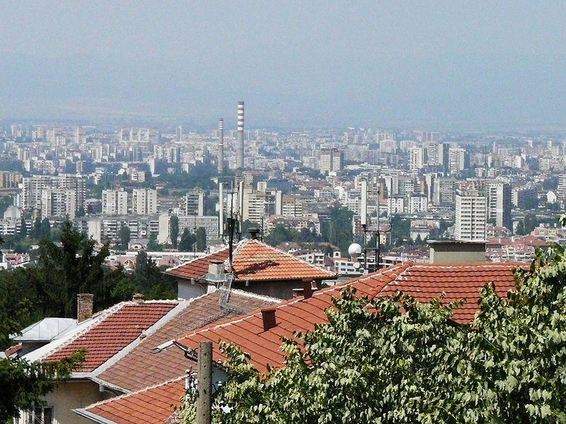 Sofia, Bulgaria. Foto por Elena Chochkova, Wikipedia Commons