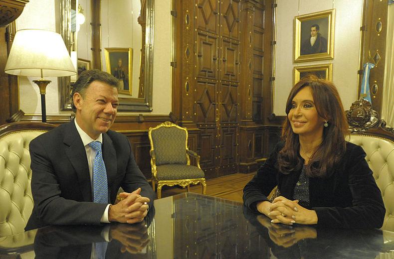 Colombia: Presidente Santos da la bienvenida a siete nuevos embajadores