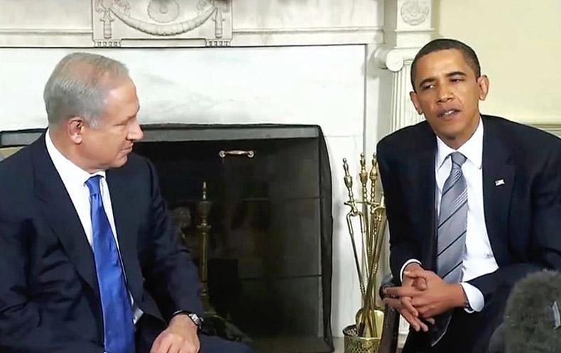 Declaración de guerra de Obama a Netanyahu