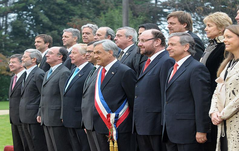 Presidente Sebastian Piñera Presenta el Bilancio de la Diplomacia Chilena