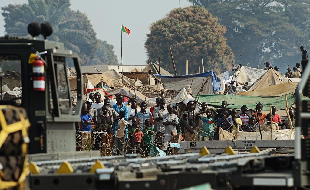 El éxodo de los musulmanes en el África central