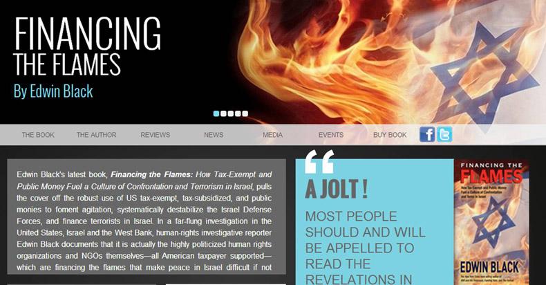 """El autor Edwin Black se presentará ante tres parlamentos durante tres semanas seguidas para hablar sobre su libro la Financiación de las Llamas (""""Financing the Flames"""")"""