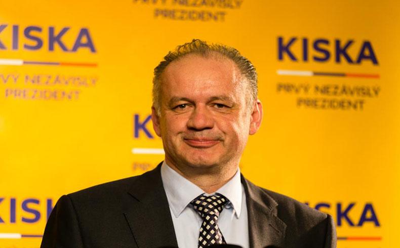 Andrej Kiska gana la última vuelta de la elección presidencial eslovaca