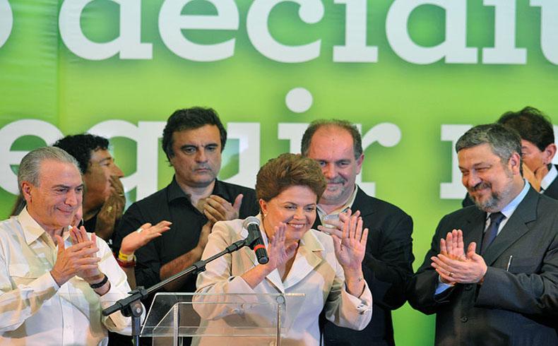 Rousseff pidió 'pacto contra la corrupción' al jurar su segundo mandato presidencial