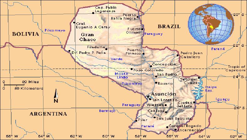 Paraguay: Agua potable en el Departamento de San Pedro