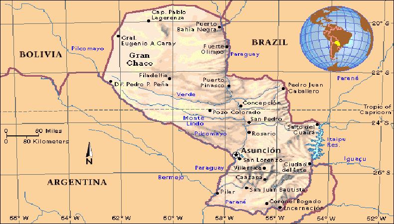 Comunidad internacional apoya el desarrollo del Paraguay